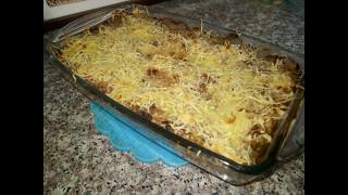 مطبخ ام وليد غراتان لوبيا خضراء باللحم المفروم