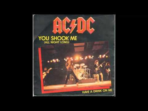 You Shook Me All Night Long- ACDC Tuned In 432Hz