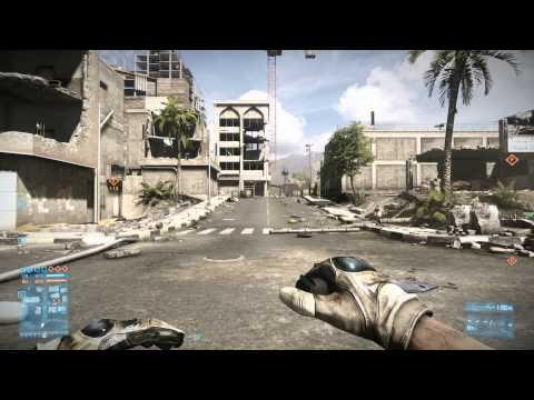 Battlefield 3: Destructible Environments—Before and After