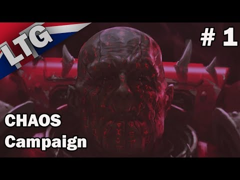 Chaos Campaign ULTRA Hard Difficulty Part 1 Battlefleet Gothic Armada 2
