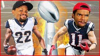 Who's Better? Marcus Peters vs Julian Edelman - Super Bowl 53 Edition User Skills Challenge