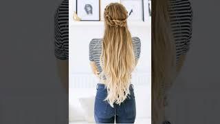 Причоски на длинные волосы