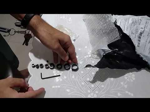 Limitador de broca de varios tamanhos