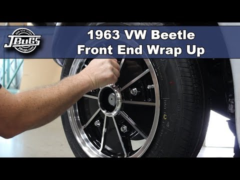 JBugs - 1963 VW Beetle - Front End Wrap Up