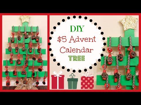 Εύκολο και οικονομικό ημερολόγιο Χριστουγέννων