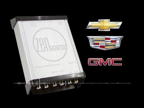 Nav-TV - NTV-KIT955 - ZEN AVB-GM Factory Radio Integration Module for Select GM Vehicles