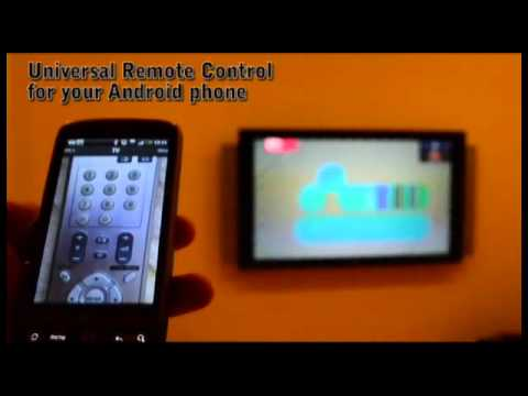 Video of BlueIR, universal remote