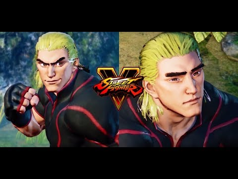 Steam Community Video Street Fighter 5 Mods Ken Hair V2
