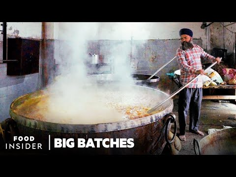 Feeding Over 100,000 People at the Largest Community Kitchen in the World