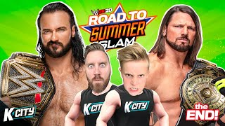 Championship Challenge!!! Road to WWE SummerSlam 2020 END!!! K-CITY GAMING