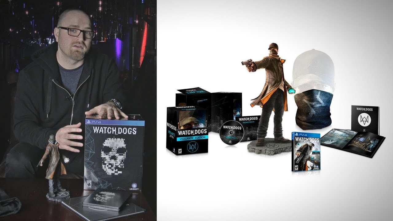 Watch Dogs Limited Edition Unboxing & Giveaway! thumbnail