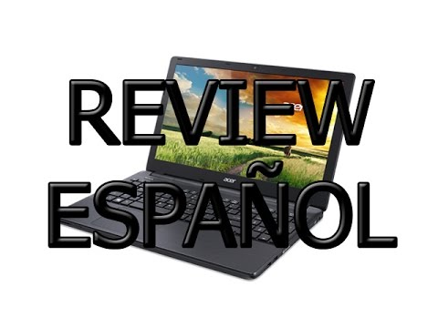 Review Acer E5-574G-50TJ Aspire E 15 - Español