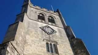 preview picture of video 'Bells ringing at Waltham Abbey'