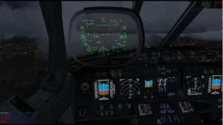 preview picture of video 'Manchester to London City PMDG 737 NGX Short Field Pack required!'