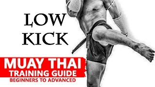 Muay Thai Training | Low kick | มวยไทย