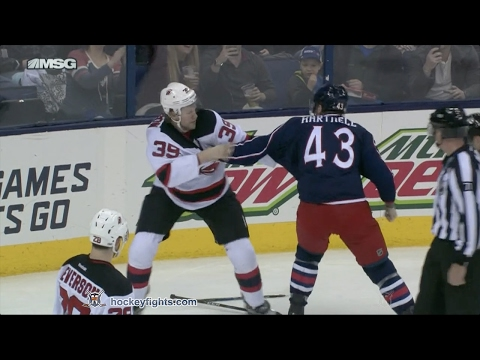 Scott Hartnell vs. Seth Helgeson