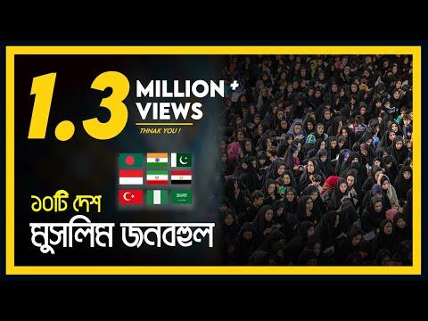 যে দশটি দেশে সবচেয়ে বেশি মুসলমান বসবাস করে। Top Ten Muslim Populated Country | Eagle Eyes