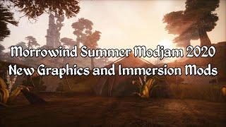 Morrowind 2020 Modjam - Ashlander Graphics and Immersion Mods