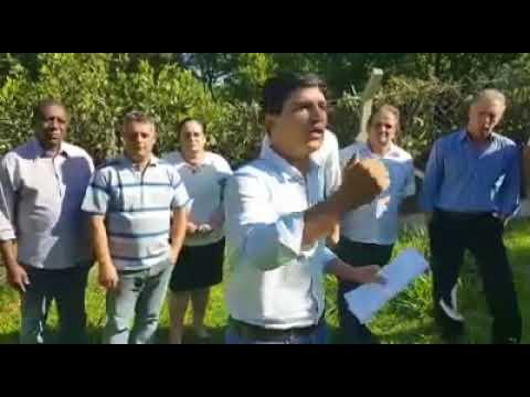 Prefeito Arizinho junto com seus Vereadores vem as Rede Sociais e diz :