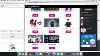 PC/MAC TUTORIAL : How to Vote 100 TIMES for Streamy Awards 2016 in ONE CLICK @PhillyD