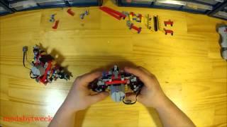 Lego 9398 4x4 Crawler + XL motor & solid axle