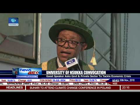 University Of Nsuka Holds 48th Convocation Lecture