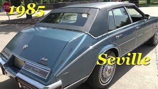 1985 Cadillac Seville Slantback Caddy Retro 1980s American Luxury Car Up-close