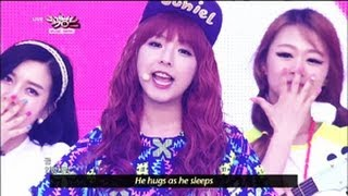 JUNIEL - Pretty Boy (2013.05.25) [Music Bank w/ Eng Lyrics]
