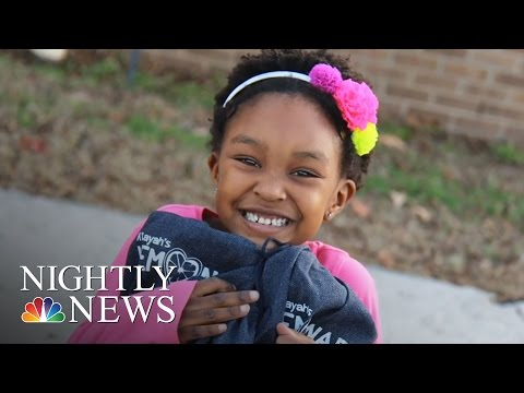 Inspiring America: 6-Year-Old Donates Lemonade Money To Foster Kids | NBC Nightly News