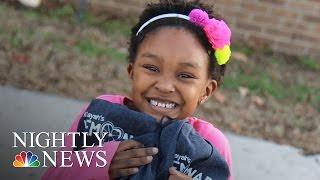 Inspiring America: 6-Year-Old Donates Lemonade Money To Foster Kids   NBC Nightly News