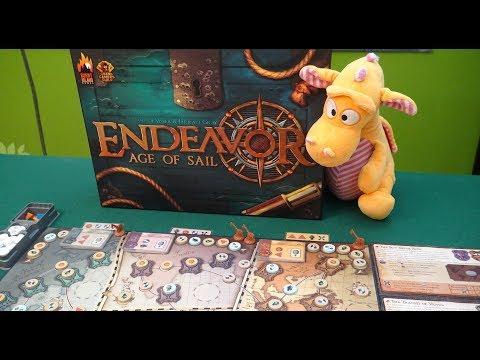 Endeavor: Age of Sail - 2p Playthrough