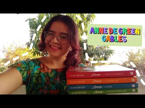 Minha experiência com os livros de Anne de Green Gables