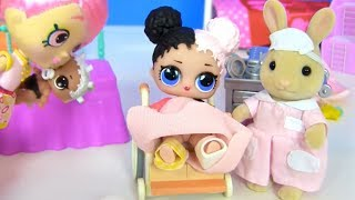 Куклы Лол! Отель с сюрпризами и Доктор для Lol мультик! Видео для детей! Мультик с куклами