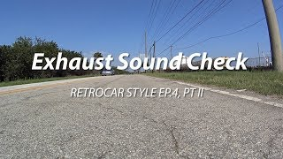 homepage tile video photo for Mazdaspeed Muffler Sound Check Pt. 2
