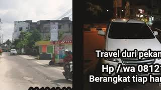 preview picture of video 'TRAVEL DUMAI 081326256204 DURI PEKANBARU DAN DARI PEKANBARU DURI DUMAI  081219680162 JEFRI TRAVEL'