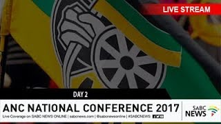 54TH ANC National Elective Conference, Day 2: 17 December 2017