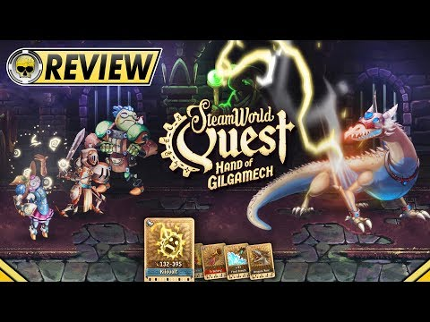SteamWorld Quest: Hand of Gilgamech - REVIEW video thumbnail