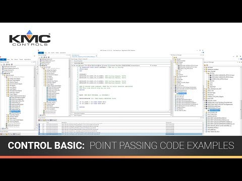 ControlBasic: Point Passing Code Examples