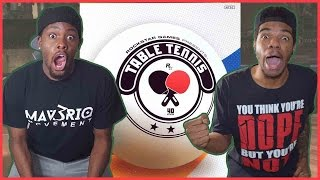 THE DOPEST GAME YOU WOULDN'T EXPECT TO BE DOPE!! - Table Tennis Gameplay   #ThrowbackThursday