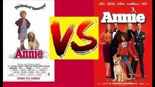 (VS) Annie It's a hard knock life  1982 VS 2014