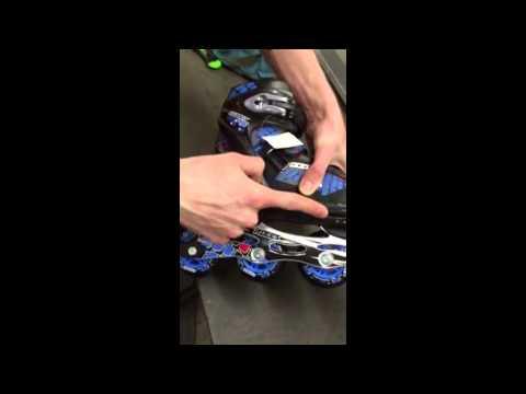 SkatePro - How To adjust size Roces Rollerskates