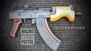 Micro Draco AK Pistol Review  AK Pocket Pistol