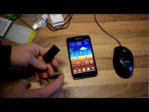 Samsung Galaxy Note HDMI über MHL und USB-Adapter