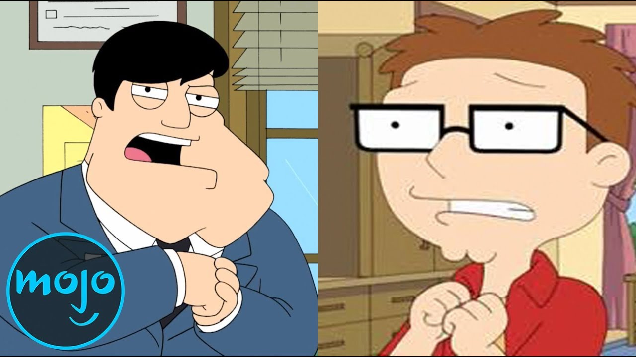 Watchmojo Top 10 Worst Things Stan Smith Has Done In American Dad