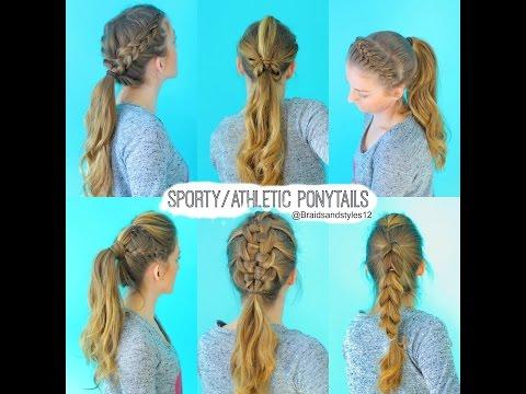 Easy Athletic Hairstyles Easy Hair Trend 2017