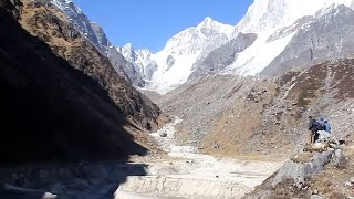 Journey to Chorabari Glacier a year after Kedarnath Floods