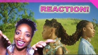 CHLOE X HALLE   DROP   REQUESTED VIDEO REACTION!
