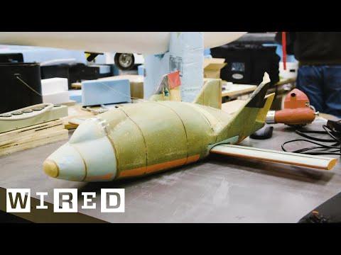 Inside NASA's Prototype Lab Where Model Planes Test the Future of Flight