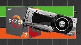 Ryzen 7 1700 vs i7 7700k - GTX 1070 1440P Gaming Benchmarks