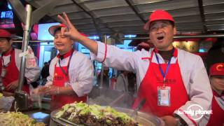 preview picture of video 'Donghuamen night market, Beijing - Lonely Planet travel videos'